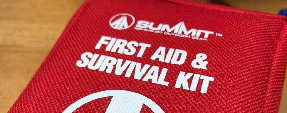 First Aid and Survival Kit